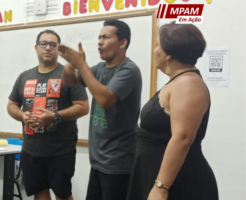 MPAM garante intérprete de Libras para estudante surdo cursar gastronomia